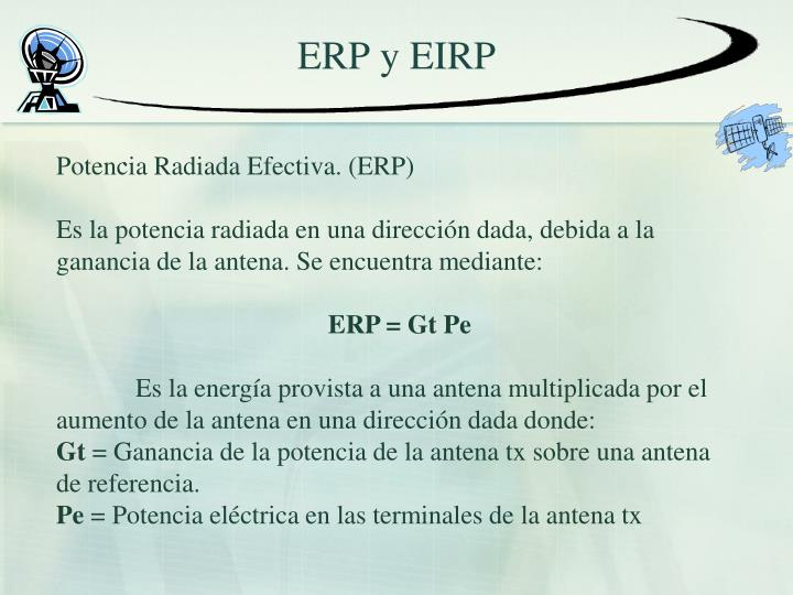 ERP y EIRP