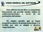 vision general del software