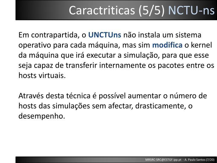 Caractriticas