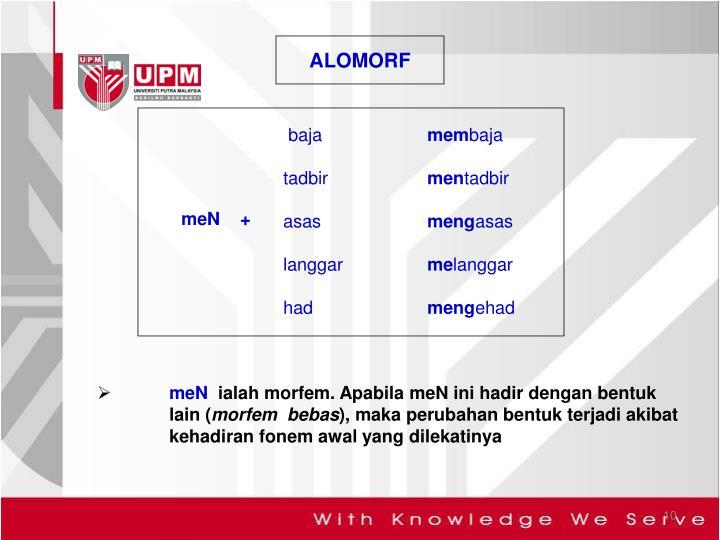 ALOMORF