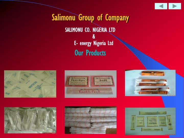 Salimonu Group of Company