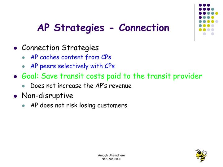 AP Strategies - Connection