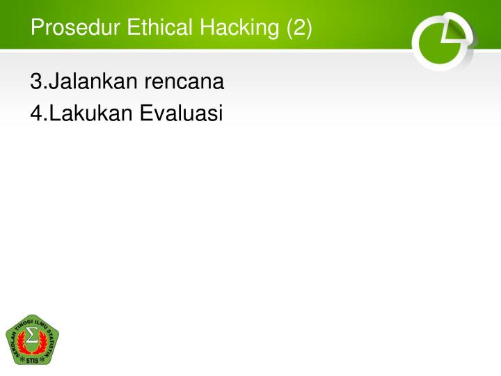 Prosedur Ethical Hacking (2)