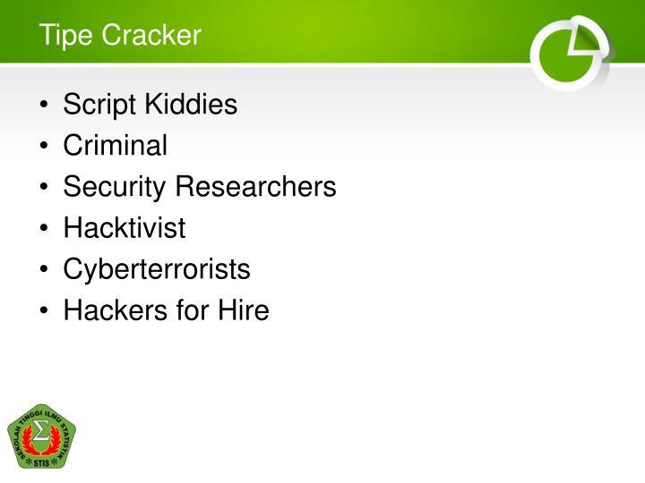 Tipe Cracker