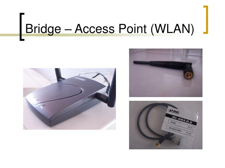 Bridge – Access Point (WLAN)