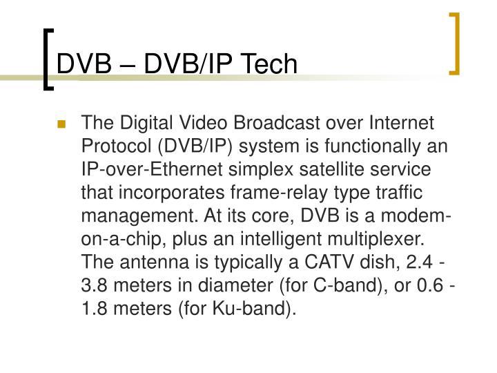 DVB – DVB/IP Tech