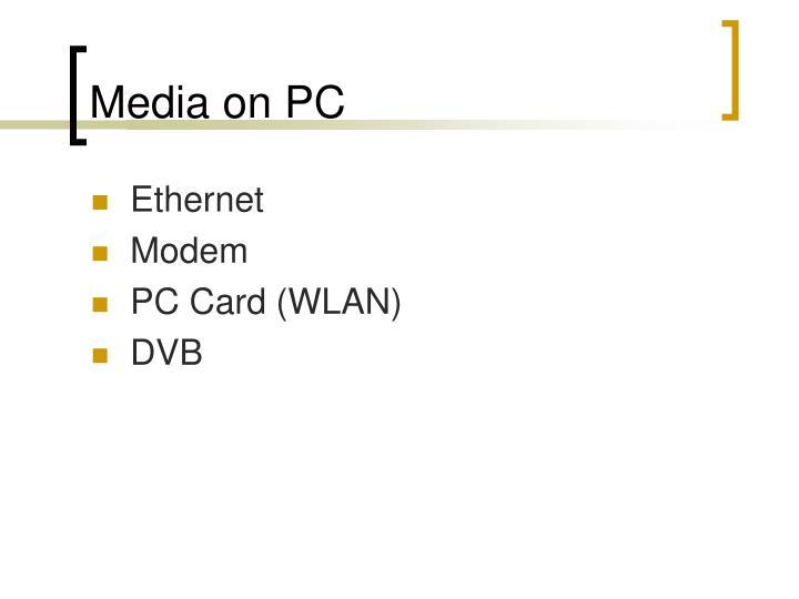 Media on PC