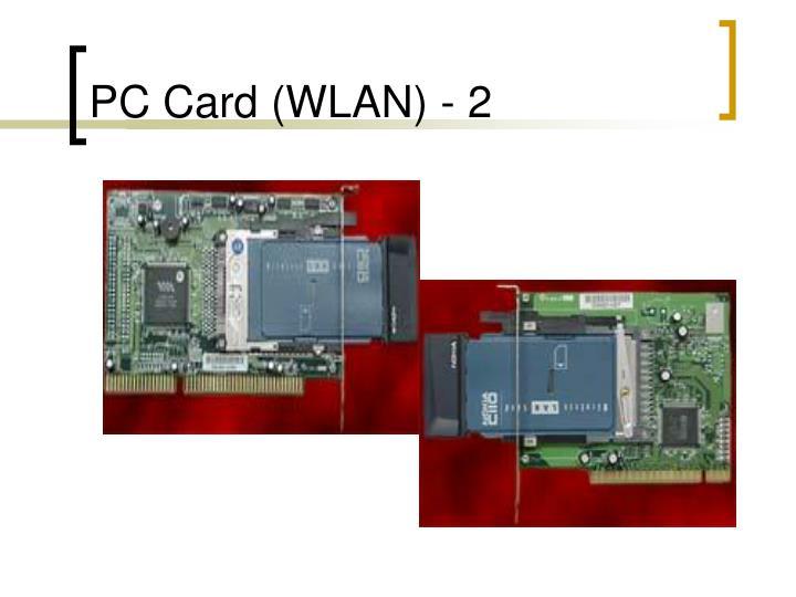 PC Card (WLAN) - 2