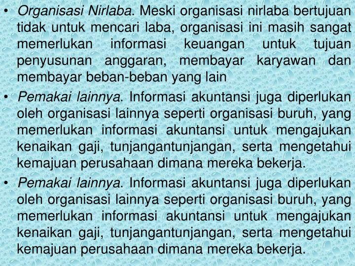 Organisasi Nirlaba