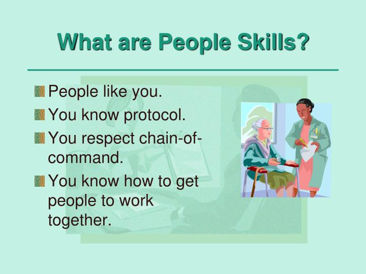 What are People Skills?