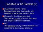 faculties in the treatise 2