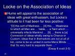 locke on the association of ideas