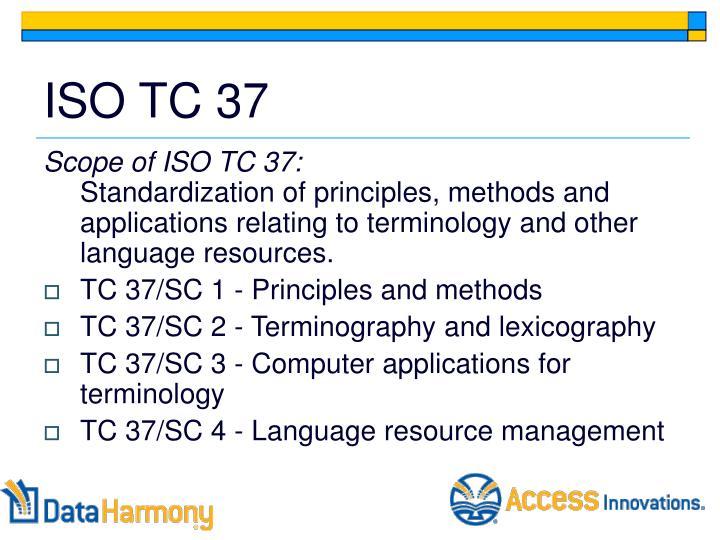 ISO TC 37