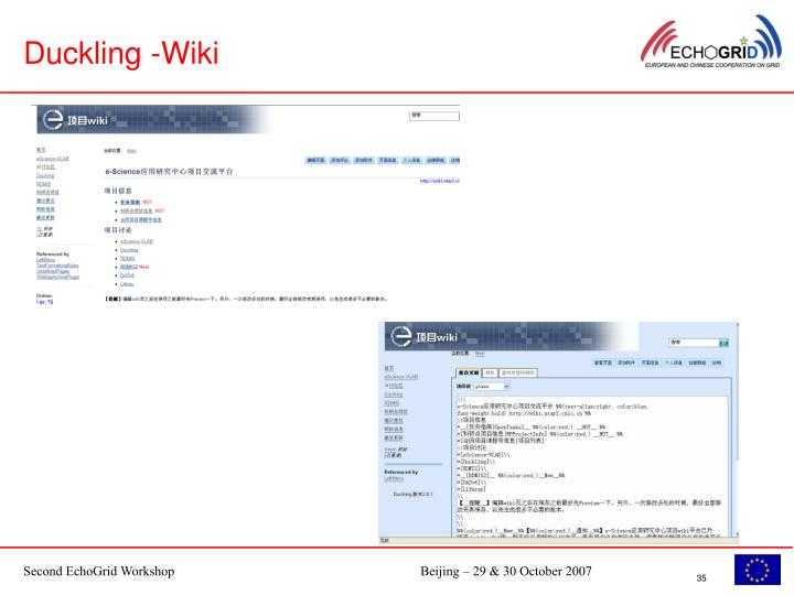 Duckling -Wiki