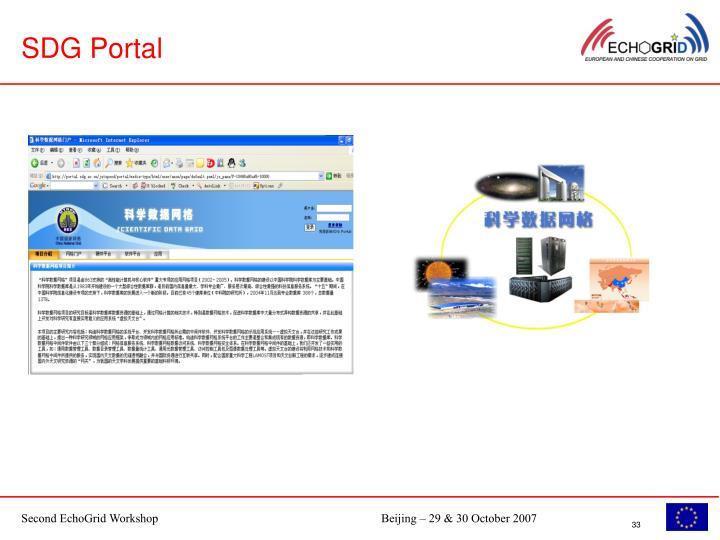 SDG Portal
