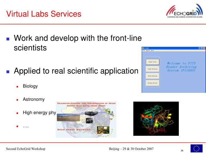 Virtual Labs Services