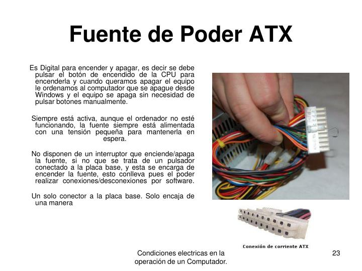 Fuente de Poder ATX