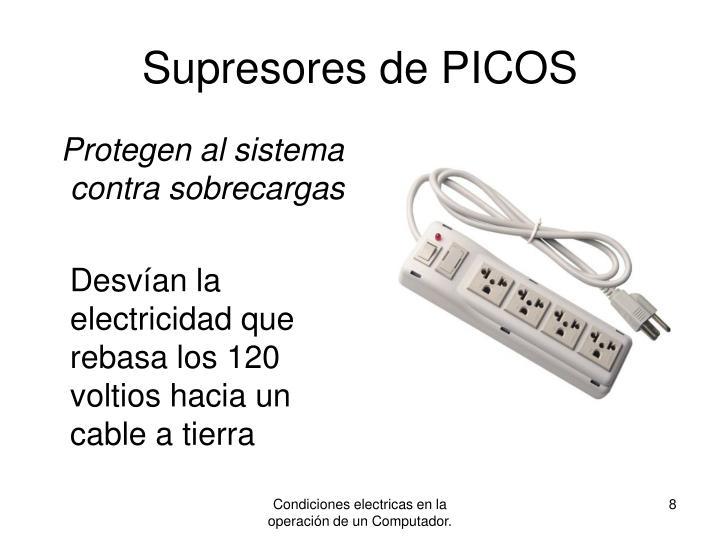 Supresores de PICOS