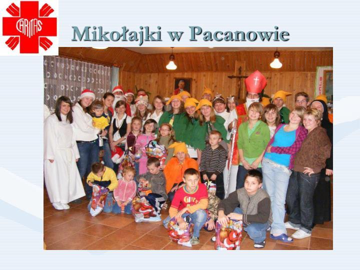 Mikołajki w Pacanowie