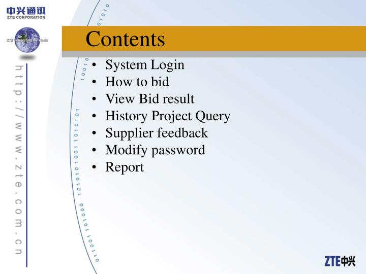 System Login