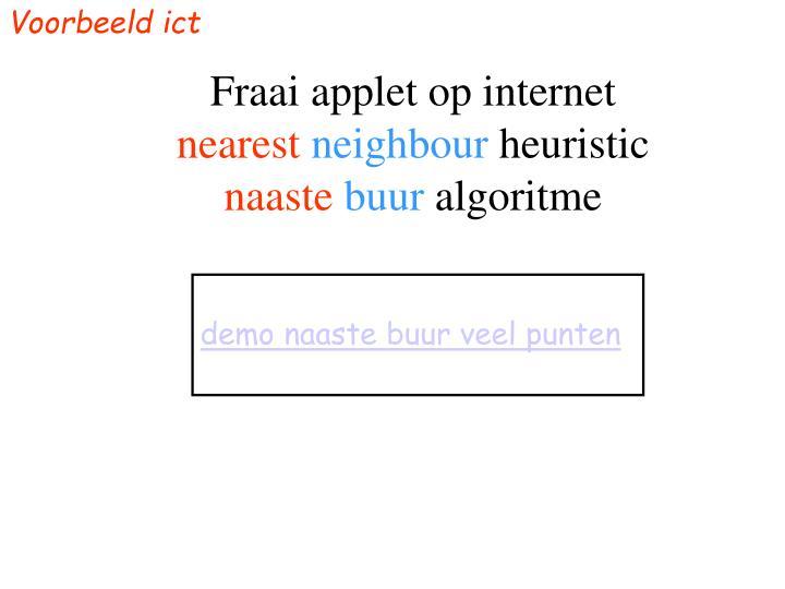 Voorbeeld ict