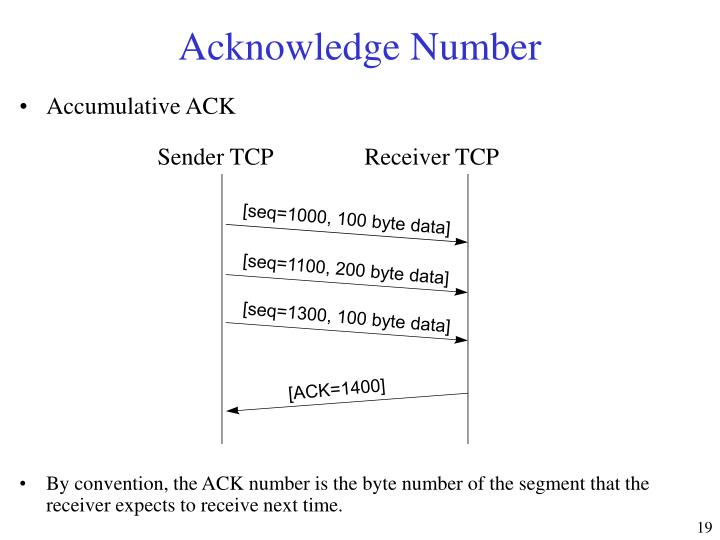 Sender TCP