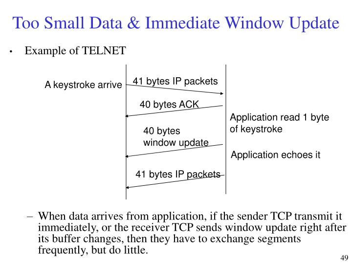 41 bytes IP packets