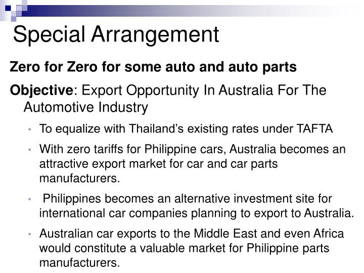 Zero for Zero for some auto and auto parts