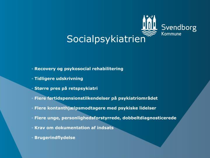 Socialpsykiatrien