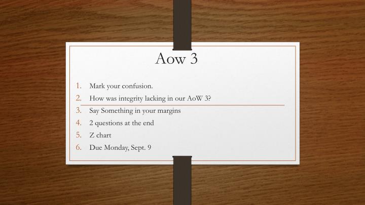 Aow 3
