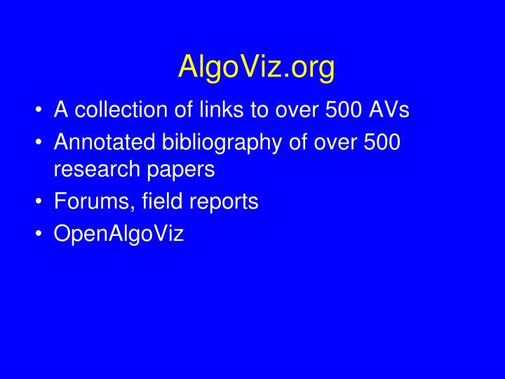 AlgoViz.org