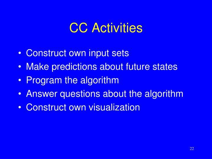 CC Activities