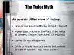the tudor myth2