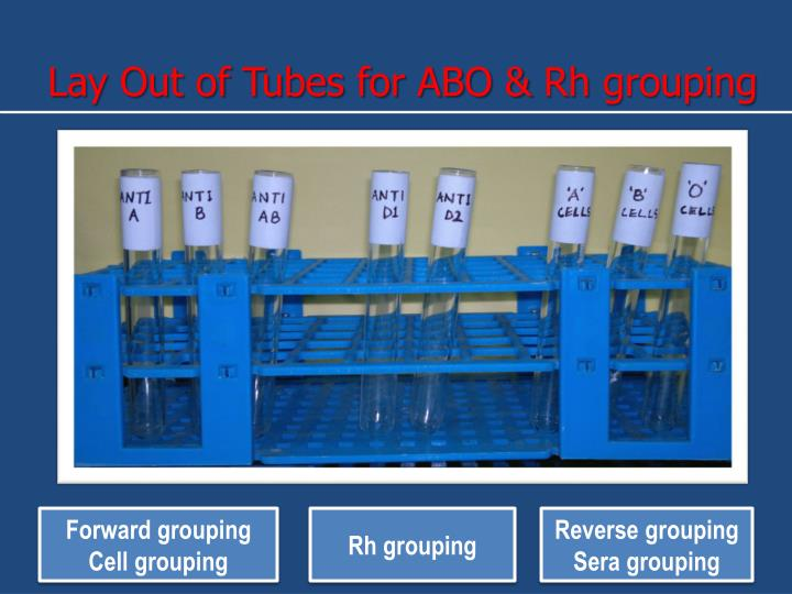 Lay Out of Tubes for ABO &