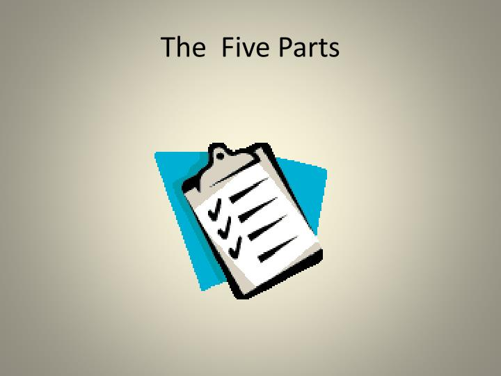 The  Five Parts