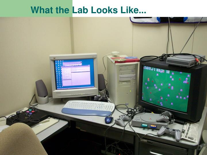 What the Lab Looks Like...