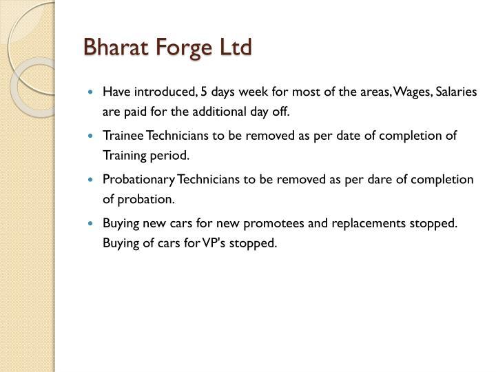 Bharat Forge Ltd