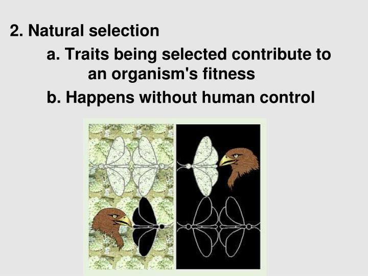 2. Natural selection
