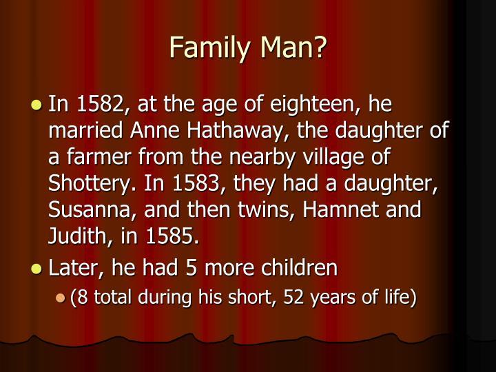 Family Man?