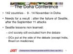 the doha conference