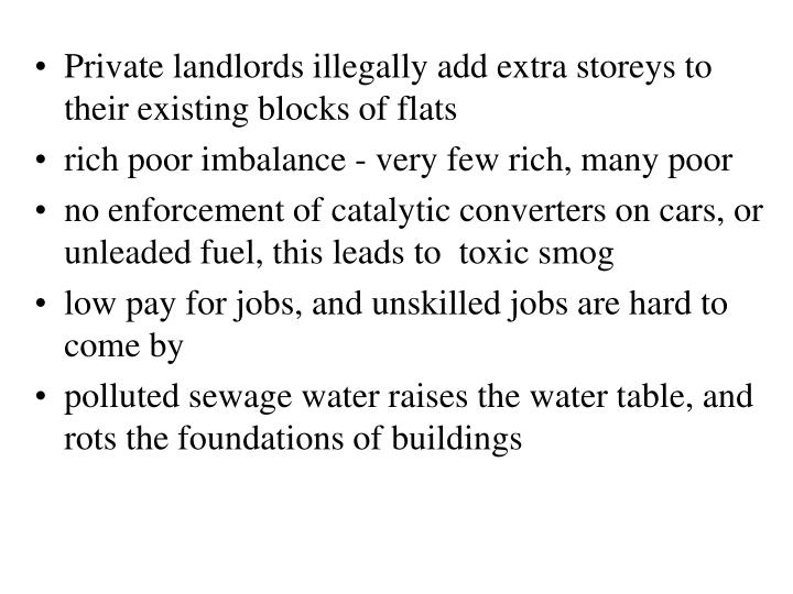 Private landlords illegally add extra storeys to their existing blocks of flats