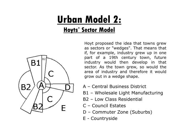 Urban Model 2: