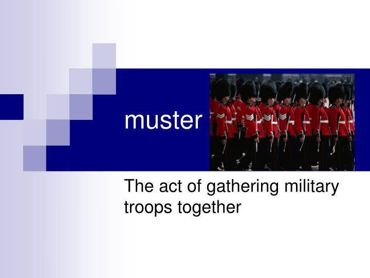 muster
