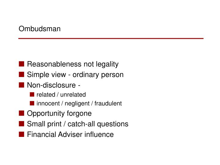 Reasonableness not legality