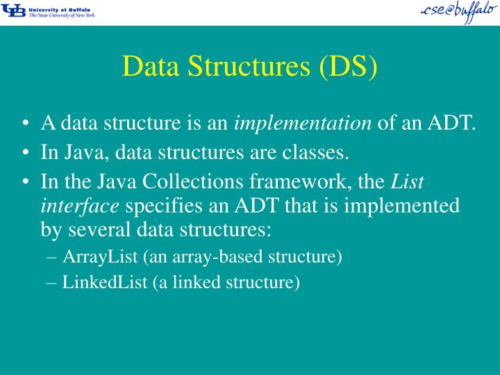 Data Structures (DS)