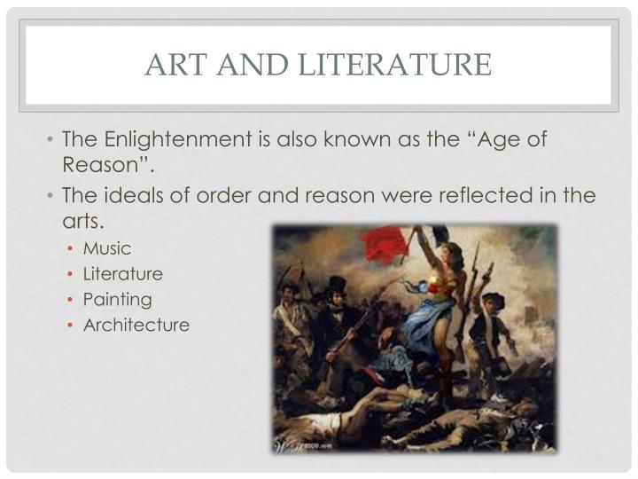 Art and Literature