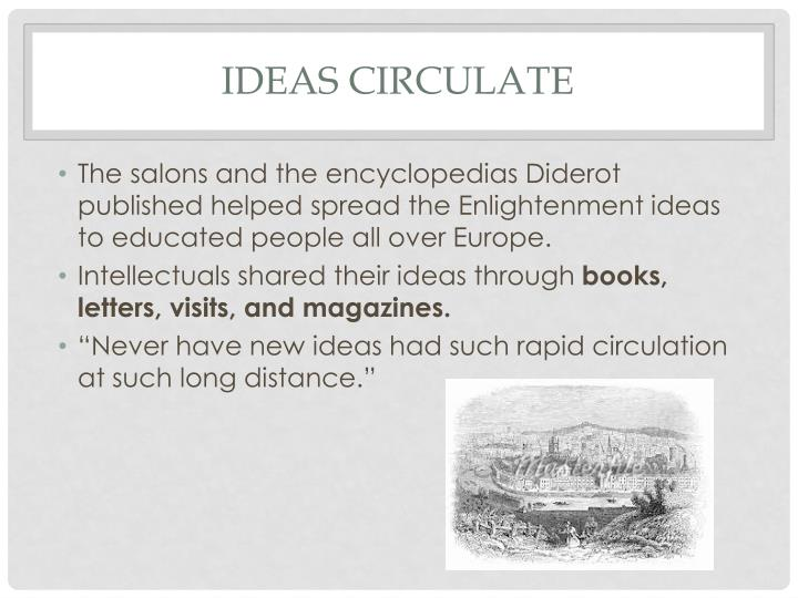 Ideas Circulate