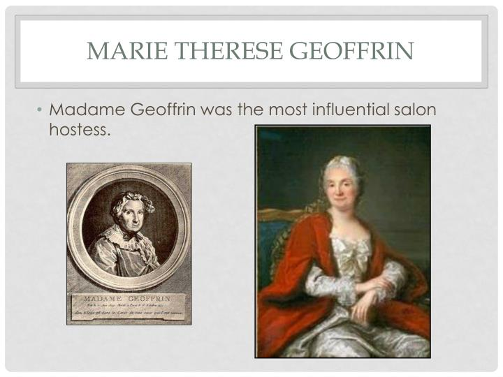 Marie Therese Geoffrin