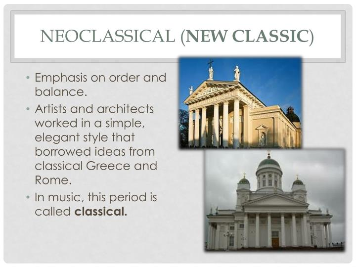 Neoclassical (