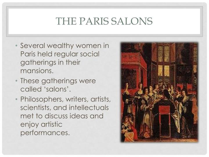 The Paris Salons